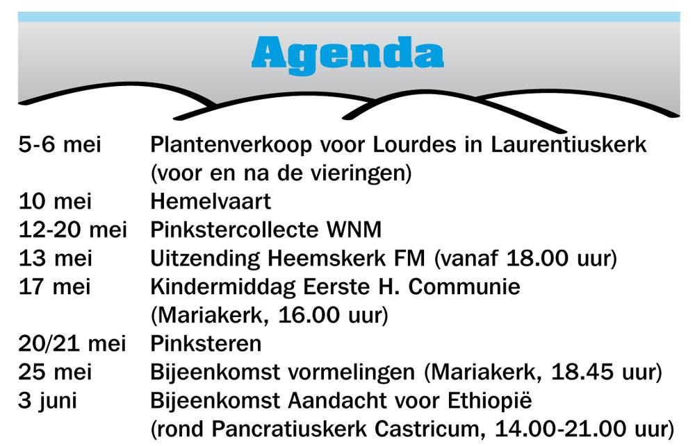 Agenda mei
